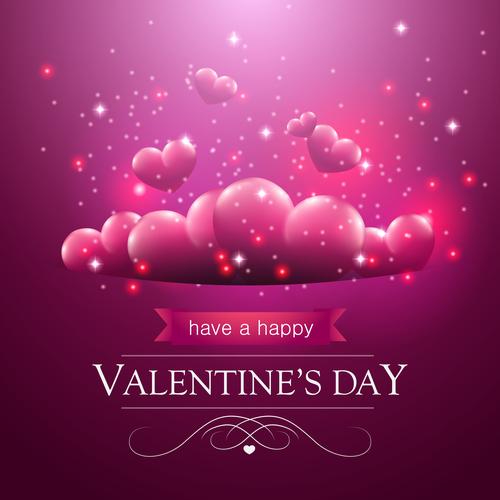 Design valentine greeting card vector