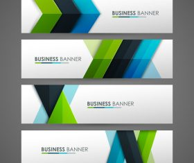 Different graphic banner vector
