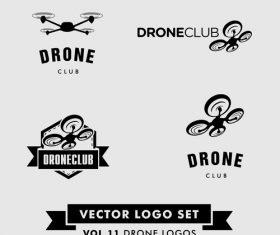 Drones logo vector