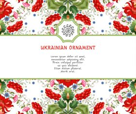 Ethnic ornament pattern vector