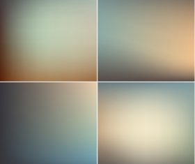 Four gradient abstract background vector