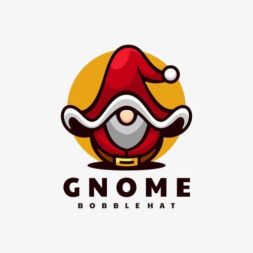 Gnome bobblehat cartoon vector