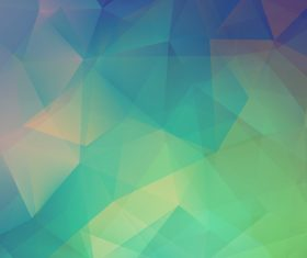 Green color gradient abstract background vector