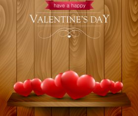 Have a happy valentines day background vector