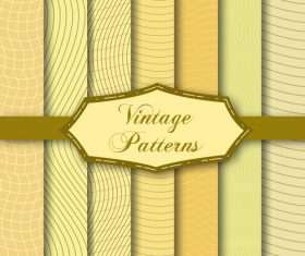 Light yellow seamless pattern set background vector
