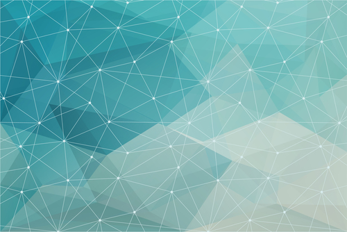 Line geometric abstract background vector