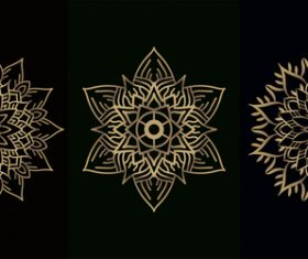 Mandala decoration vector