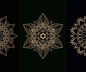 Mandala decoration vector