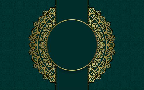 Mandala decorative pattern vector