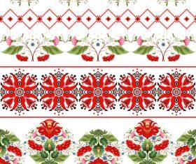 Optional decoration Ukrainian custom pattern vector