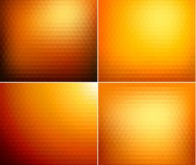 Orange gradient abstract background vector