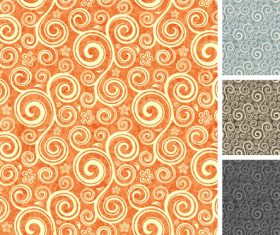 Seamless damas pattern vector