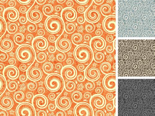 Seamless damas pattern vector