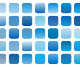 Set of blue sky gradient shades combinations vector