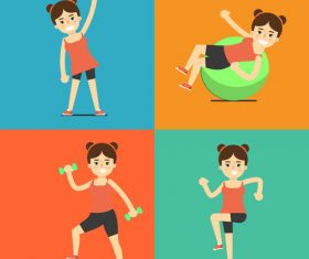 Sport illustration vector