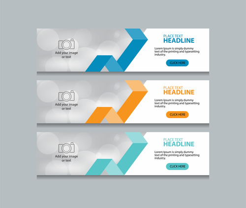 Template banner business vector