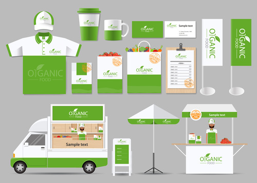 White green business suit design vector