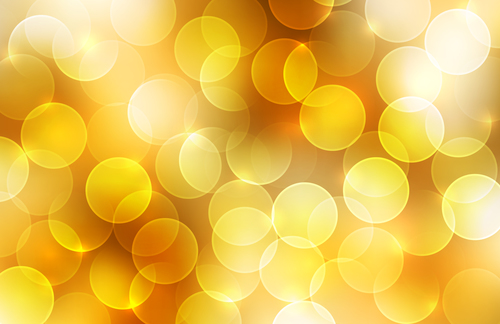 Yellow ring background vector