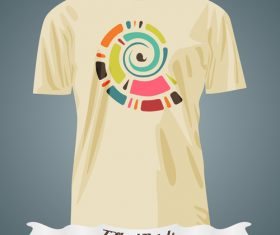 Abstract art t-shirts prints design vector