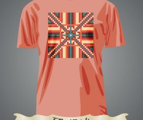 Abstract pattern t-shirts prints design vector