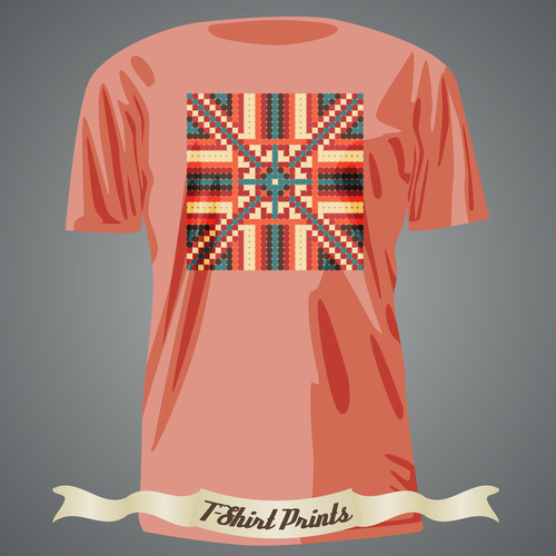 Abstract pattern t shirts prints design vector