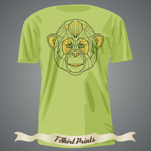 Animal T Shirts prints design vector
