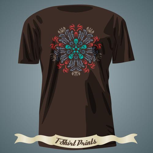 Art T Shirts prints design vector