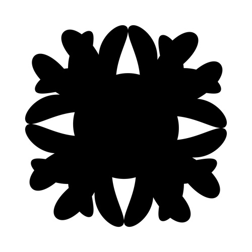 Artistic ink abstract vector