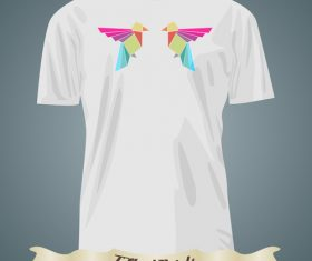 Bird pattern t-shirts prints design vector