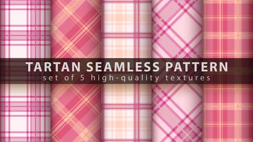 Classic beautiful tartan seamless pattern vector