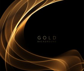 Curved golden wave vector