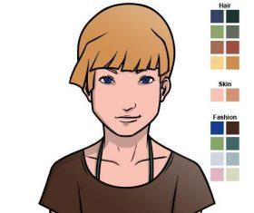Customizable character vector