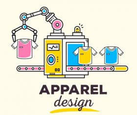 Design clothing concept vector
