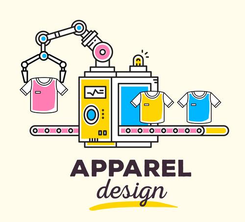 Design clothing concept vector
