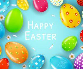 Easter bunny gnome holding balloon vector