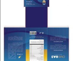 Fish OIl Packaging Vector