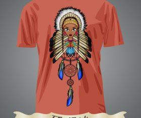Girly t-shirts prints design vector