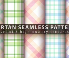 Green and blue tartan seamless pattern vector