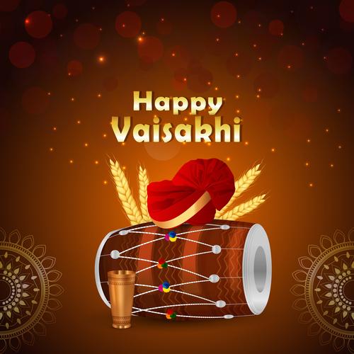 Happy vasant panchami illustration vector