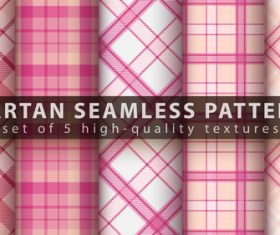 High quality textures tartan seamless pattern vector