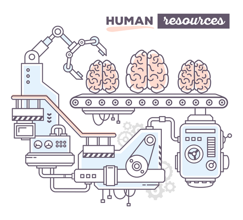 Human product design business concept vector
