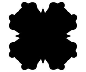 Ink abstract vector