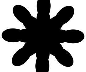 Ink pattern vector