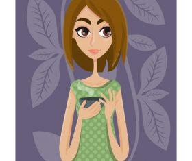 Life cartoon illustration vector