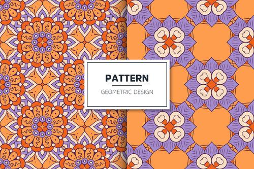 Luxurious decorative mandala pattern seamless background design vector