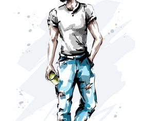 Men vector