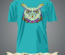 Owl T-Shirts prints design vector