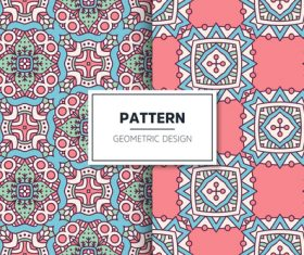 Pattern geometric design vector