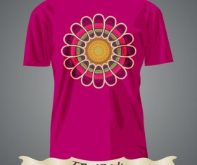 Pattern t-shirts prints design vector