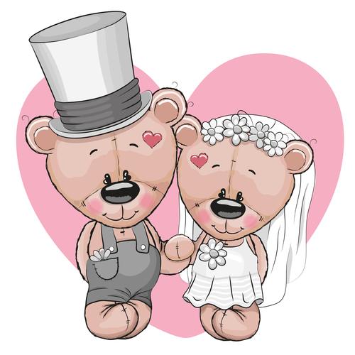 Romantic Love illustration vector